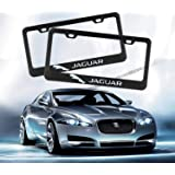 2Pcs 2 Holes Black Licenses Plates Frames For Indianapolis Colts Car Licenses Plate Covers Holders for US Vehicles Matte Aluminum License Plate Frame with Black Screw Caps Indianapolis Colts