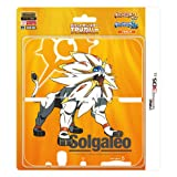 Pokemon Solgaleo TPU cover for New Nintendo 3DS XL (Pokemon Sun and Moon)