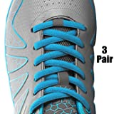 [3 Pairs] Replacement Shoelaces Shoe Laces,iBarbe Strings 45