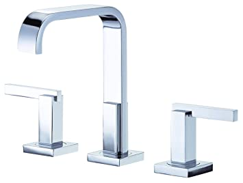 Danze D304544 Sirius Trim Line Two Handle Widespread Lavatory Faucet, Chrome