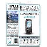Ripclear Garmin Monterra GPS Screen Protector Kit - Scratch-Resistant, Smooth Touch, Anti-Glare - 2-Pack