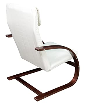 Awe Inspiring Niche Mia Reclining Bentwood Chair Mocha Walnut Beige Ncnpc Chair Design For Home Ncnpcorg