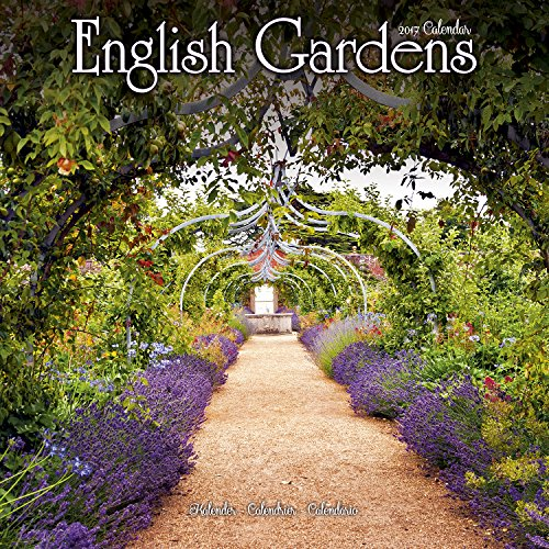 Garden Calendar - English Gardens Calendar - Calendars 2016 - 2017 Wall Calendars - Flower Calendar - English Gardens 16 Month Wall Calendar by Avonside