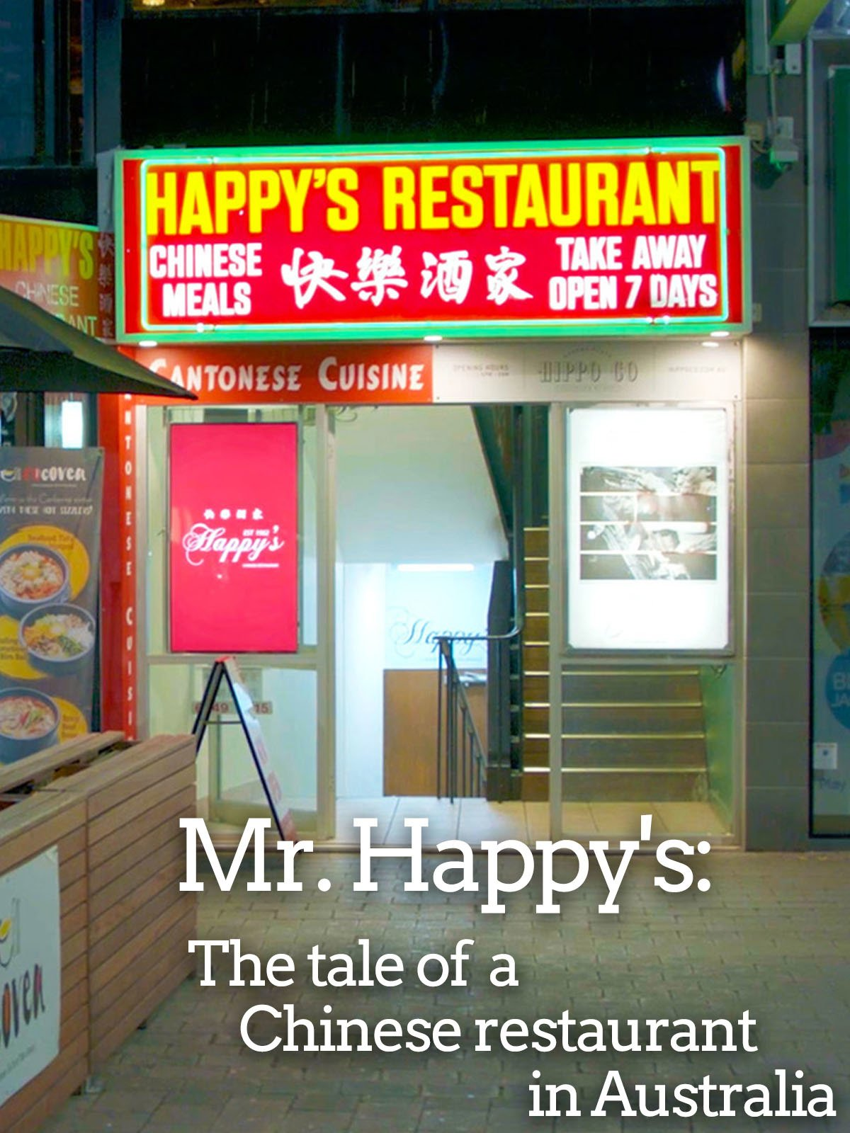 Mr. Happy's: The tale of a Chinese restaurant in Australia on Amazon Prime Instant Video UK