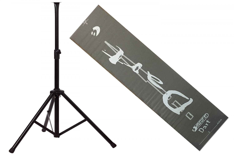 BEST® DARTSCHEIBEN-SET für Steeldarts: Sisal-/Bristle-Dartboard, Auffangring und Dartboardständer inkl. Dartmatte – Artikel auch einzeln erhältlich! bestellen