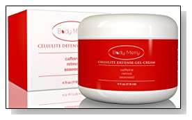 Cellulite Defense Gel-Cream with Caffeine, Retinol and 3 types of Seaweed - Reduces the Appearance of Cellulite - 4 ounces