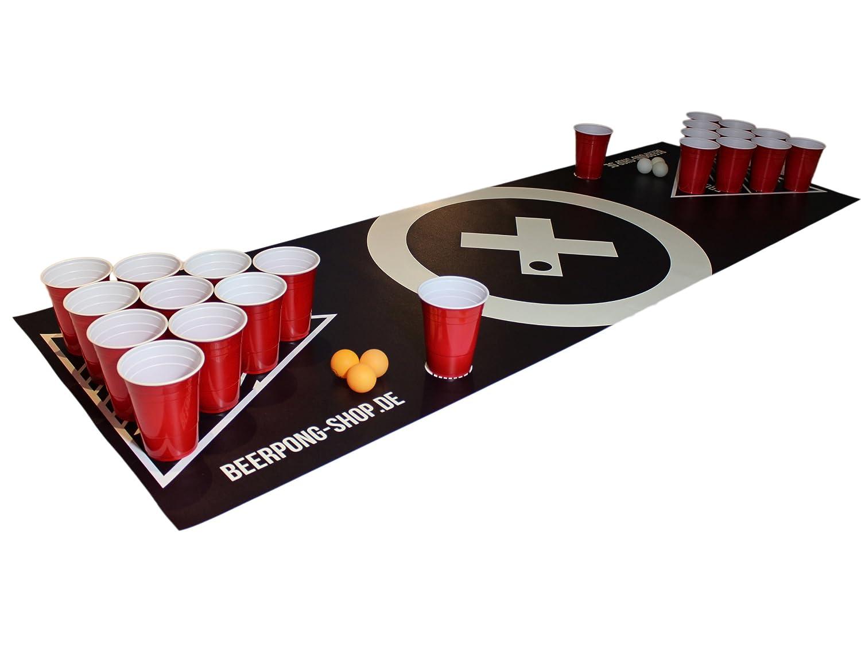 Becher Beer Pong Beer Pong Tisch Matten Set