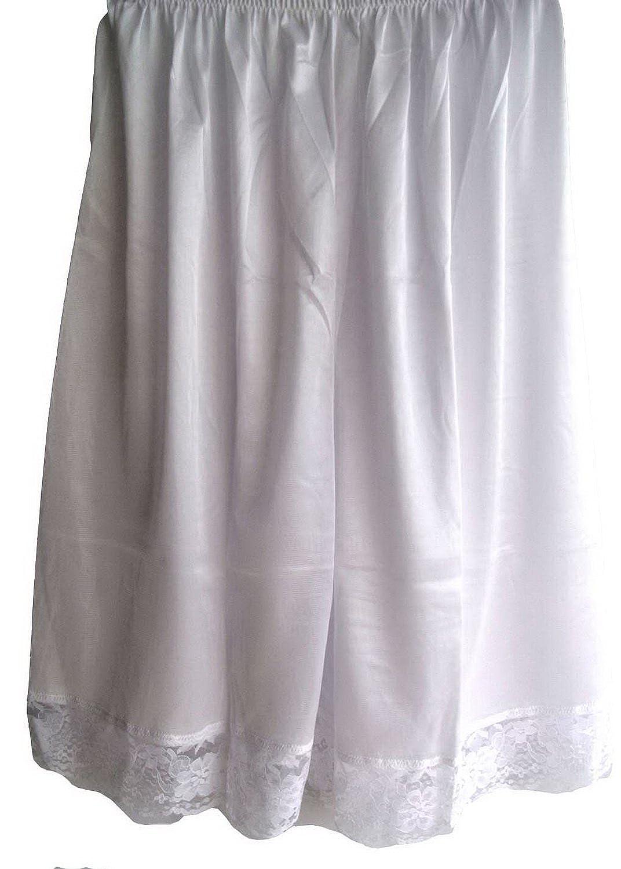 Damen Nylon Halb Slips Neu UPPNWH White Half Slips Women Pettipants Lace online kaufen