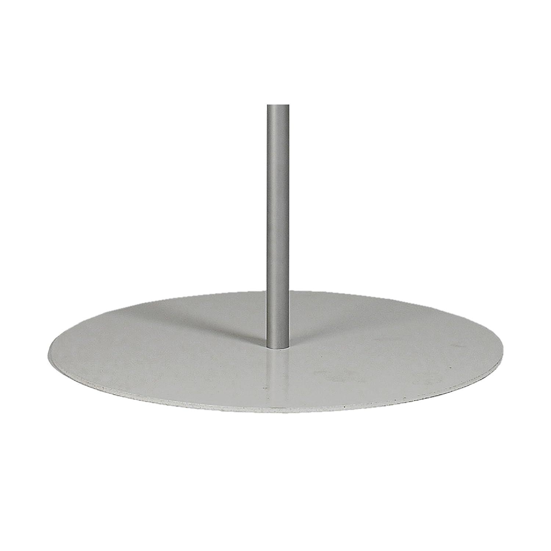 Round Schirmständer weiß für ein Stockmaß ø 3,6 bis 4 cm