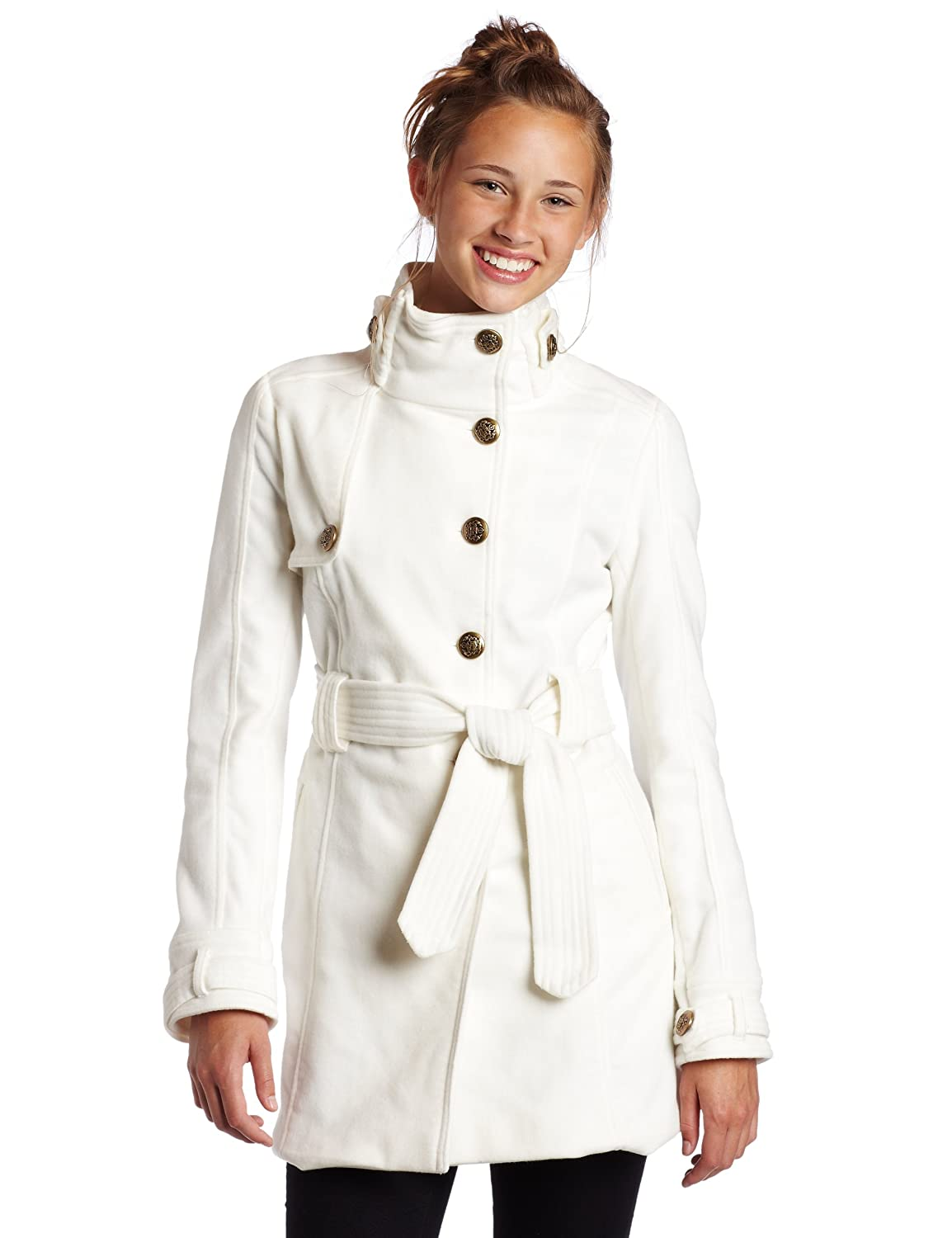 Jack Women's Romaine Plush Coat with Belt
