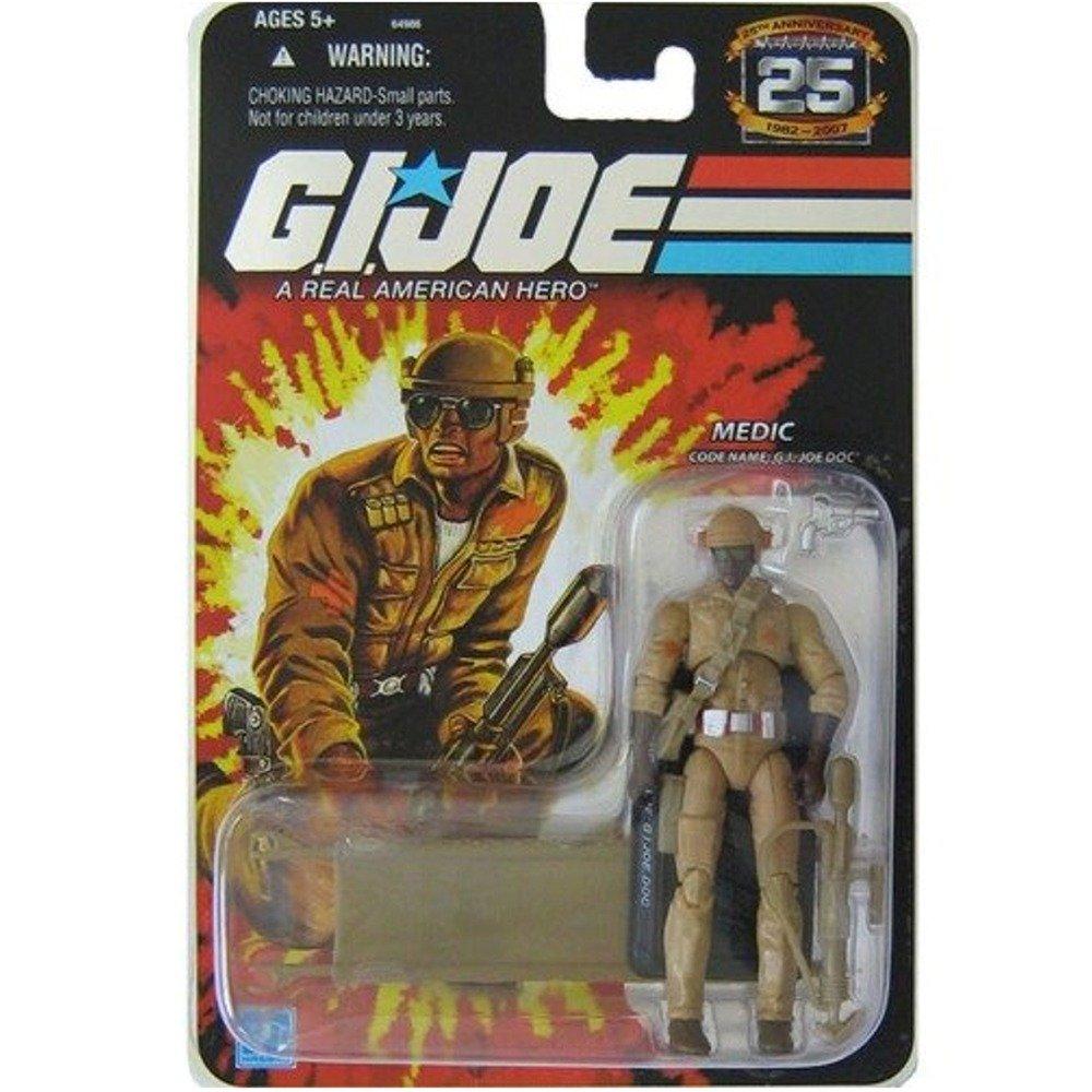 G.I. Joe Doc Medic Exclusive Mail-In Figur – 25th Anniversary Collection 2007 von Hasbro als Weihnachtsgeschenk