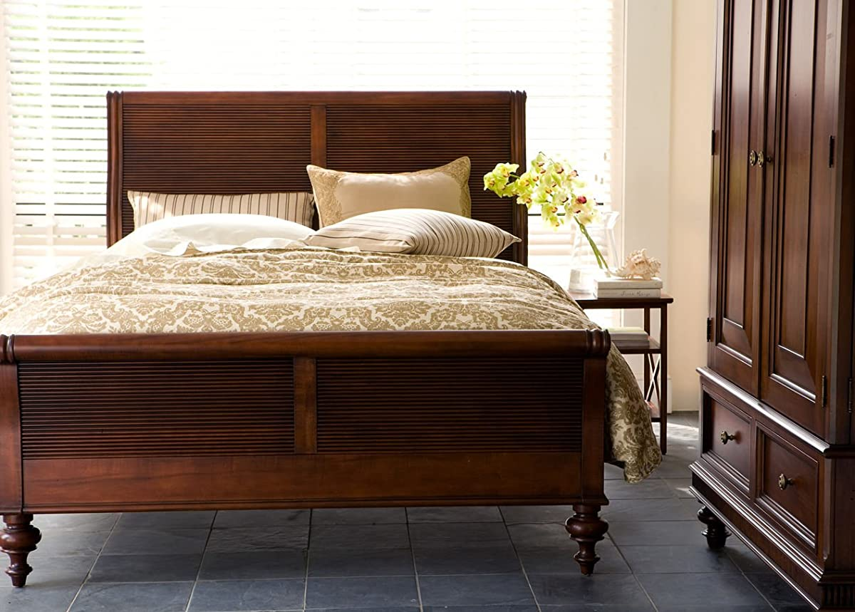 Ethan Allen Kingston Sleigh Bed, King, Caraway