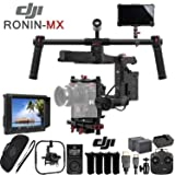 DJI Ronin-MX 3-Axis Gimbal Stabilizer with 4k Supported HD Mounted Monitor & Production Bundle (Color: Ronin-MX, Tamaño: Production Kit)