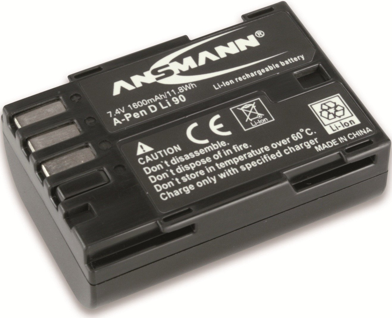 Ansmann 5044643 - Batería para cámara de fotos Pentax K 7  Electrónica Revisión del cliente y más noticias