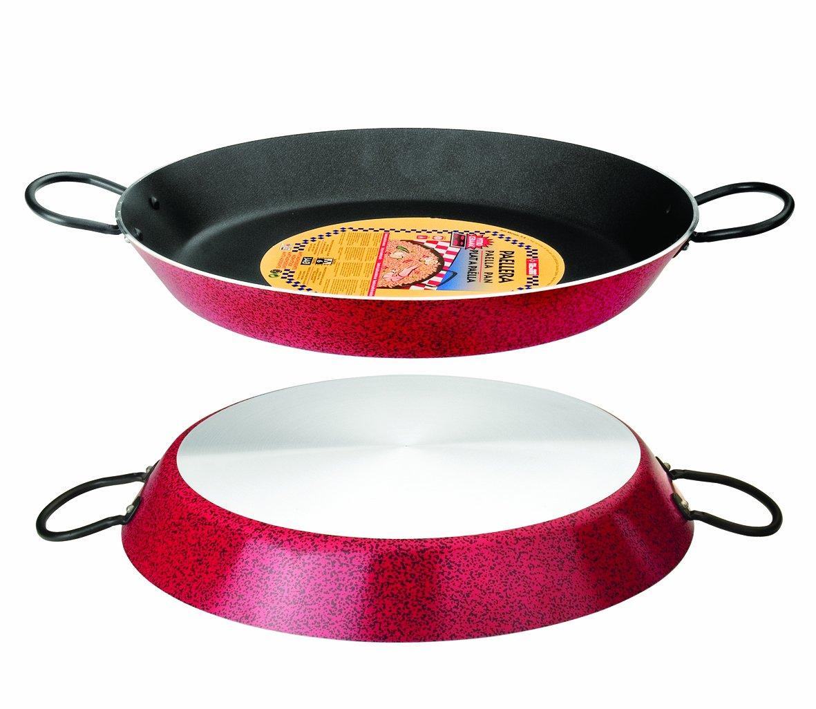 Paellera de 38cms válida para distintos tipos de cocina