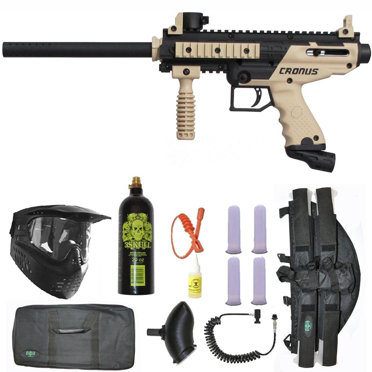 Tippmann Cronus Paintball Gun 3Skull 4+1 Sniper Set