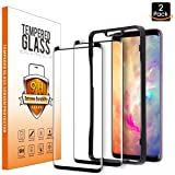 Galaxy S9 Screen Protector Glass (2-pack), Pulais Samsung Galaxy S9 Screen Protector Tempered Glass with Easy Installation Tray 2018 [Full Coverage][Case Friendly]