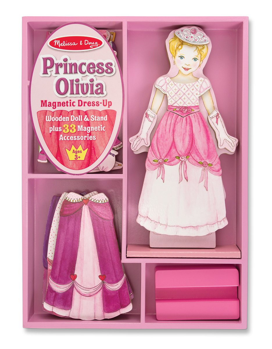olivia magnetic doll