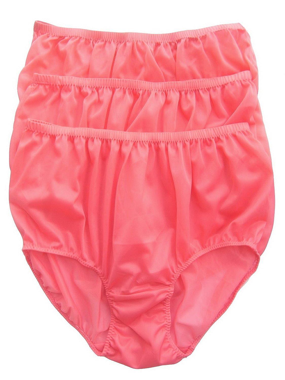 Höschen Unterwäsche Großhandel Hellrosa Los 3 pcs LPKLP Lots 3 pcs Wholesale Panties Nylon günstig bestellen