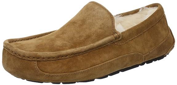 UGG ASCOT 纯羊毛内层 男士休闲鞋船鞋便鞋 .95 - 第1张  | 淘她喜欢