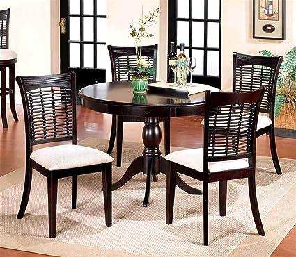 Pedestal Dining Table Set