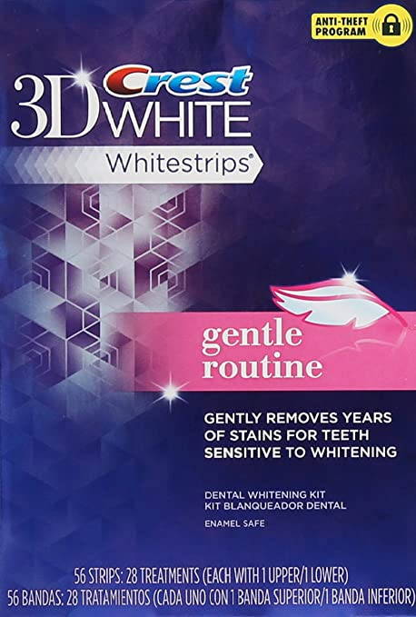 Crest Whitestrips Gentle Routine
