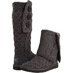 UGG Lattice Cardy Womens Boots (Charcoal)