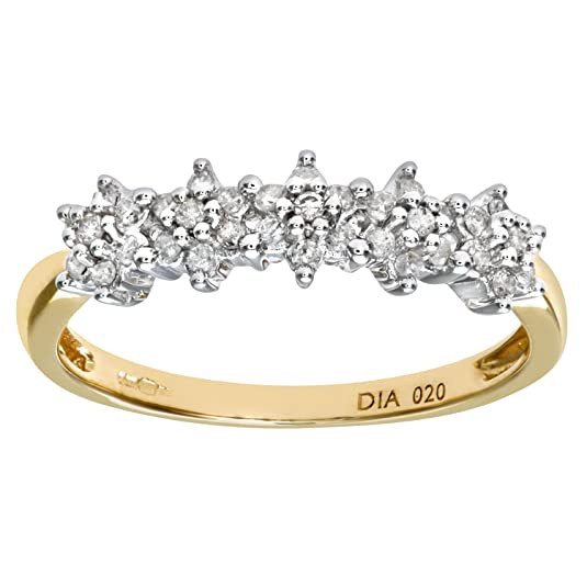 Naava Women's 9ct 20pts Diamond Eternity Ring