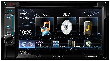 Kenwood DDX4015BT Moniteur ave récepteur DVD -Noir