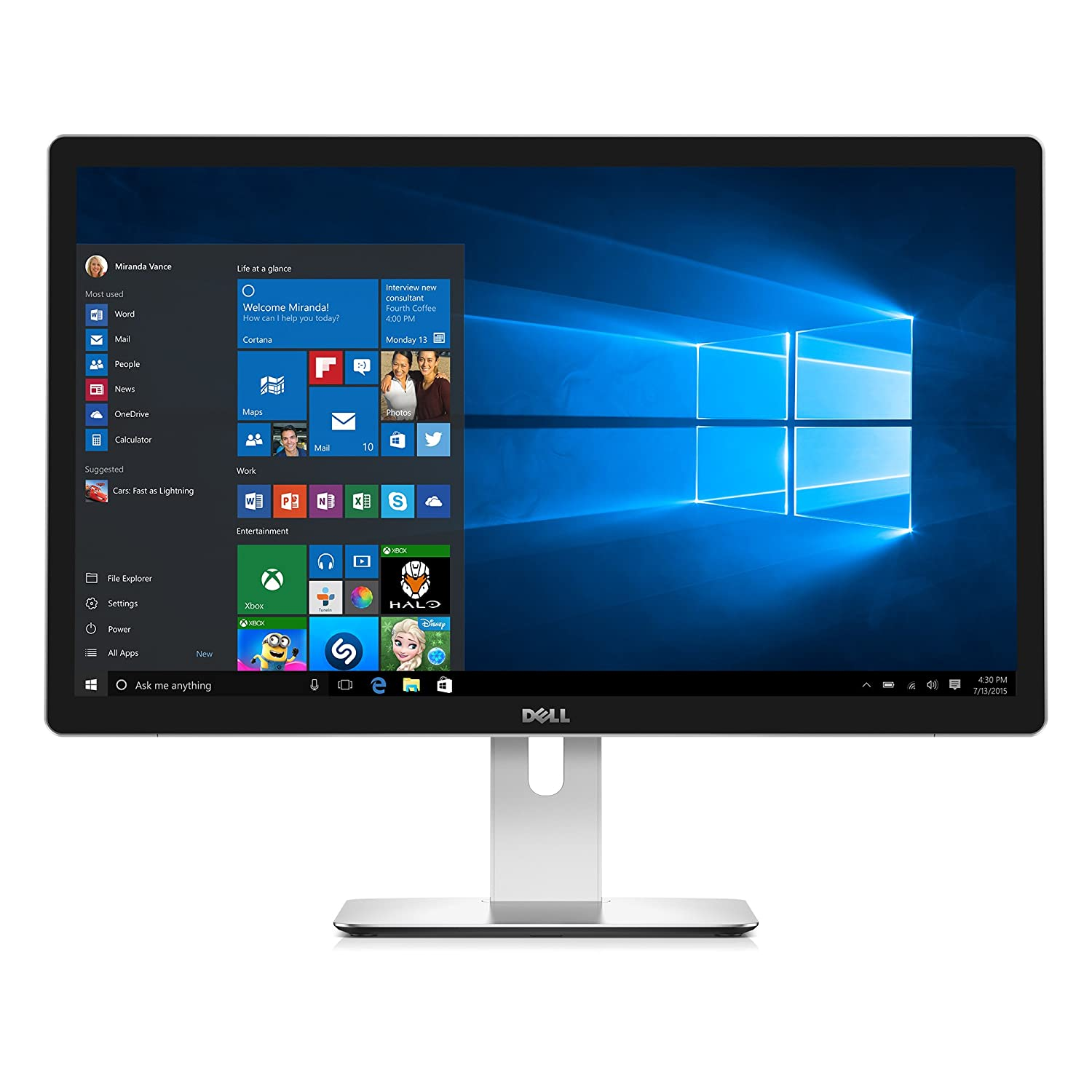"Dell UltraSharp UP2715K 27"" 5K Monitor Best High Resolution Monitor"