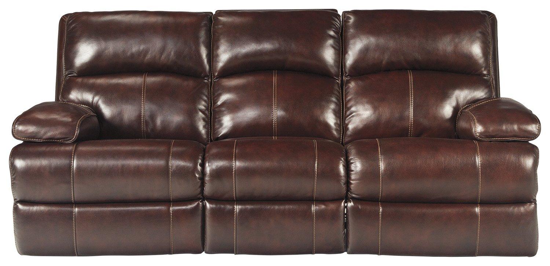 Signature Design by Ashley U9900088 Reclining Sofa - Burgundy