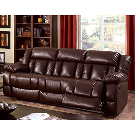 Furniture of America Bostwick Recliner Sofa