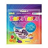 Zollipops Zaffi The Clean Teeth Taffy, Natural Fruit, 9 Ounce