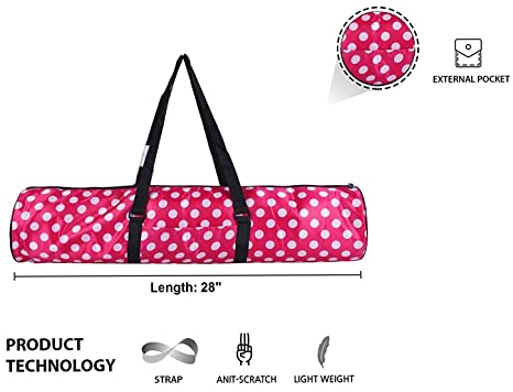 Strauss Yoga Mat Bag Full Zip available at Amazon for Rs.399 315aa23b10e19