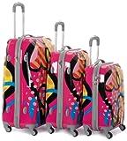 Rockland Luggage Three-Piece Luggage Set
