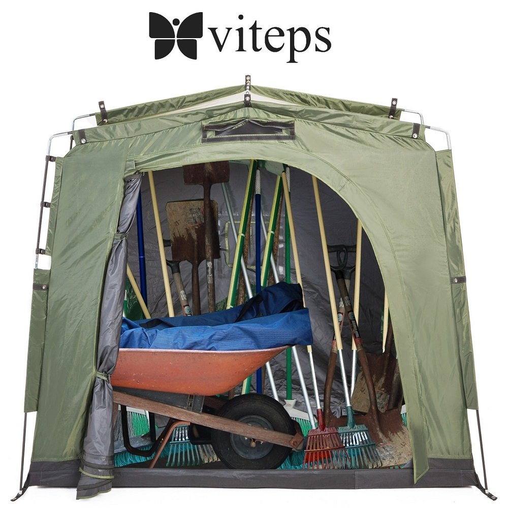 Space-Saving Outdoor Storage Shed Tent, Stores Bicycles, Tools storage, Toys, Pool Supplies storage And More For 3 Seasons In the Year, Waterproof, Portable Tent That Is Easy To Assemble