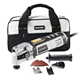 WISETOOL 400W 3.5 Amp Oscillating Multi Tool Kit with 4.5° Oscillation Angle,6 Variable Speed Oscillating Saw with Quick Blade Change System for Cutting,Sanding,Grinding (Tamaño: 400W)