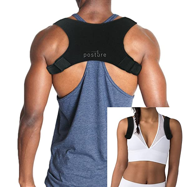 6615225af Discreet Posture Corrector for Men AND Women that Provide Clavicle and  Shoulder Support