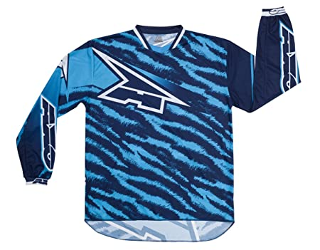 AXO MX5T0058-B00 Dyemax Jersey, Taille XL, Bleu
