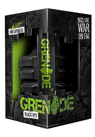 Grenade Black Ops -Fettverbrennung Kapseln, 1er Pack (1 x 100 Stuck)