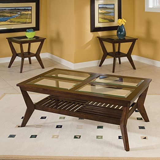 Table Set w Coffee Table & 2 End Tables- Norway