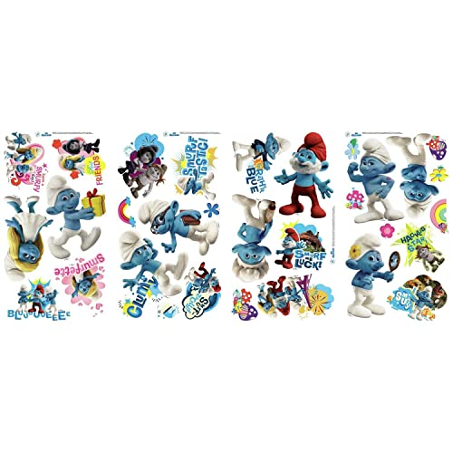 Smurf Wall Decals