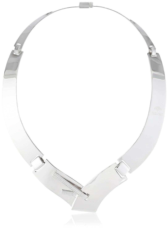 Elisabeth Landeloos Damen-Collier 925 Silber rhod. Umfang 46 cm Closer HK1030