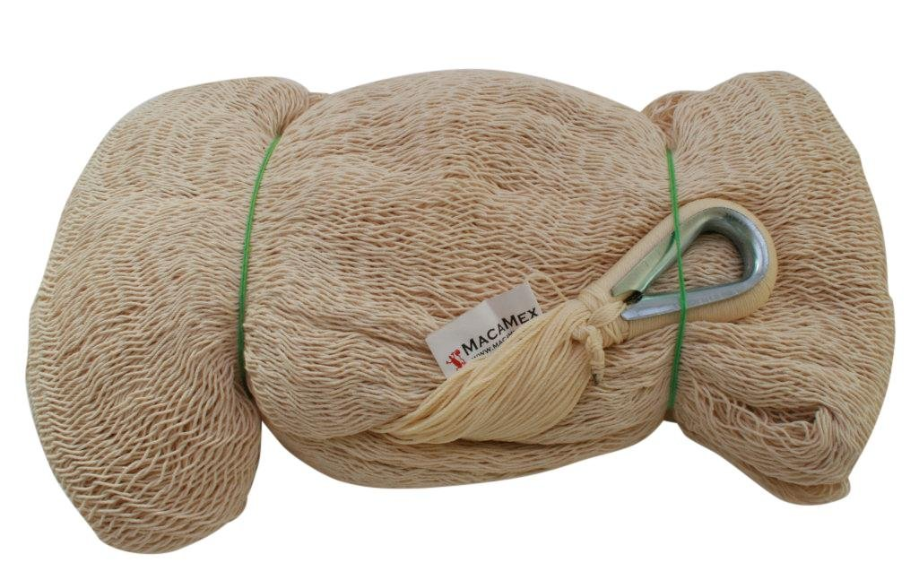 Mexikanische Netzhängematte Single uni natur weiß eine Person 120 kg online kaufen