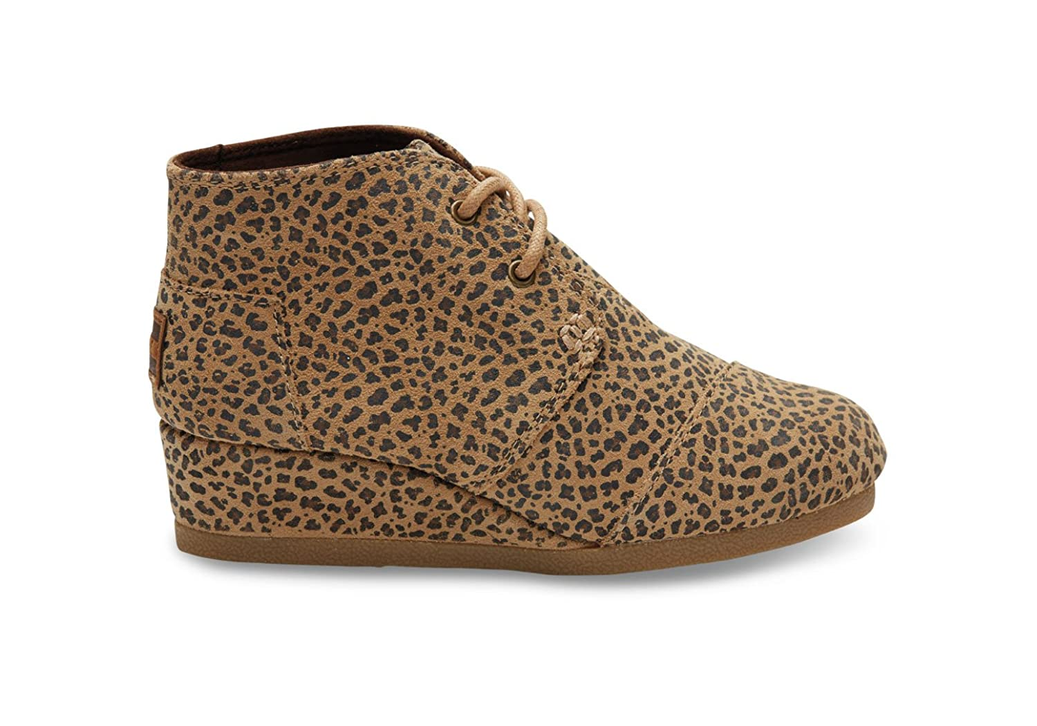 569b757eb197 Toms Desert Wedges Cheetah Suede 10006460 Youth 6 ...