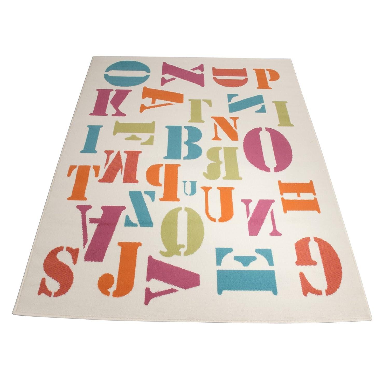 Floori Kurzflorteppich Joy Flying Letters – 160x225cm jetzt kaufen
