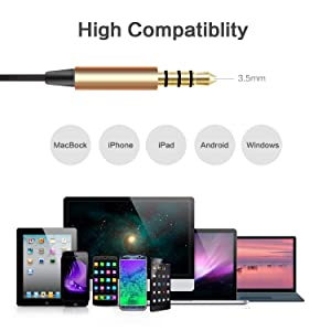 [Upgrade] inOpera Audio A1 Headphones Wired Earbuds in-Ear Noise Isolating Heavy Deep Bass Earphones with Microphone and Volume Control for Workout Sp