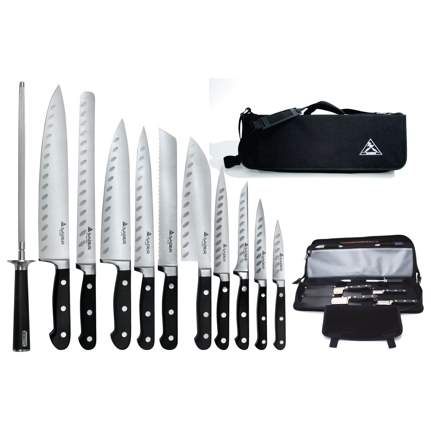 professional chef knife sets. Black Bedroom Furniture Sets. Home Design Ideas
