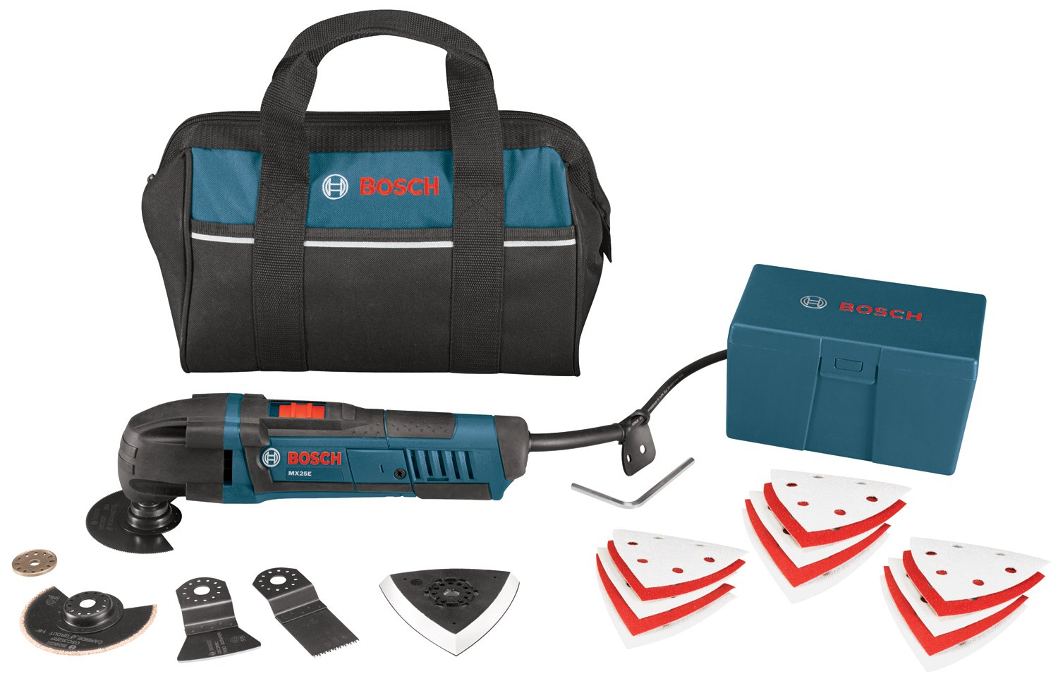 Bosch MX25EC-21 2.5-Amp Multi-X Oscillating Tool Kit $97.00