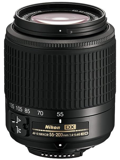 Nikon zoom-nikkor teleobjectif zoom 55 mm 200 mm f/4.0-5.6 g ed af-s dx nikon f